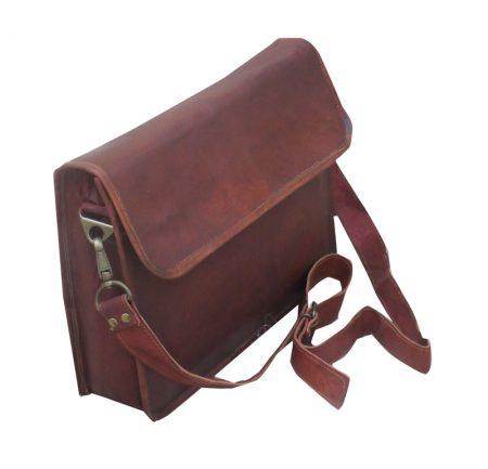 Classic Half Flap Laptop Bag