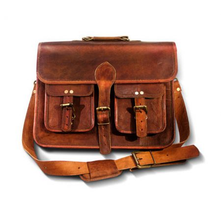 Double Pocket Laptop Bag