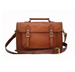 Genuine Leather DSLR Camera Bag