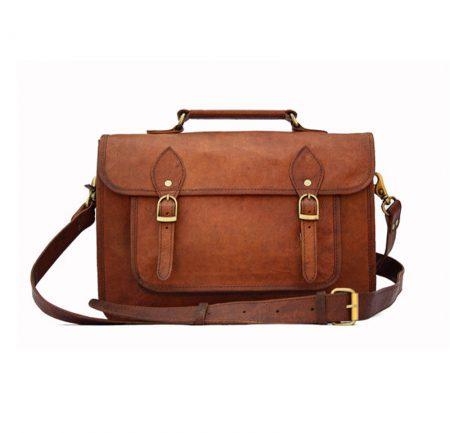 Genuine Leather DSLR Camera Bag